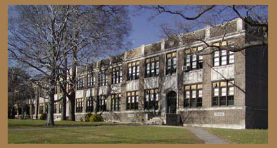 <Rutherford High School in Rutherford New Jersey>