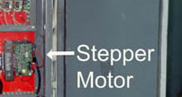 <Stepper Drive installed by John Uske>